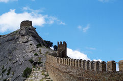 Genoese fortress Stock Photography