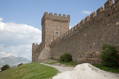 Genoese fortress Stock Image