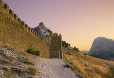 Genoese fortress Royalty Free Stock Image