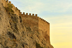 Genoese fortress Stock Photos