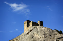 Genoese fortress Royalty Free Stock Images