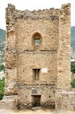 Genoese fortress. Crimea. Royalty Free Stock Photos