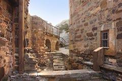 Genoese fortress in Crimea peninsula Royalty Free Stock Photo