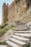Genoese fortress in Crimea Stock Images