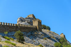 Genoese fortress Stock Photo
