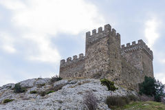 Genoese fortress.Sudak. Crimea. Genoese fortress in the city of Sudak in the Crimea stock image