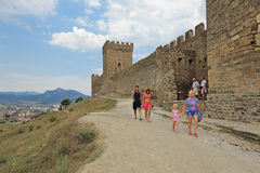 Genoese fortress Stock Images