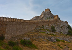 Genoese medieval fortress Stock Image