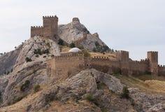 Genoese Sudak Castle Stock Images