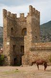 Genoese Sudak Castle Royalty Free Stock Photos