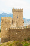 Genoese Sudak Castle Stock Photography