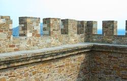 Genoese Sudak Castle Stock Photos
