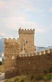 Genoese Sudak Castle Stock Photo