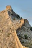 Genoese Sudak Castle. Cimea Royalty Free Stock Image
