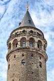 Genoese tower. Galata antique Genoese tower. Turkey Royalty Free Stock Photos