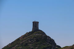 Genoese Tower, Ajaccio, Corsica, France royalty free stock photo