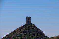 Genoese Turm, Ajaccio, Korsika, Frankreich Lizenzfreies Stockfoto