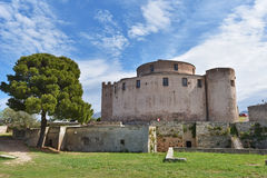 Genoise citadel in the Corsican towns Saint-Florent Stock Photo