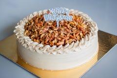 Genoise Coffee Cake. Royalty Free Stock Photo