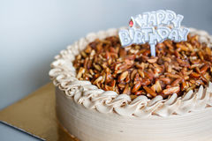 Genoise Coffee Cake. Stock Photos