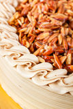 Genoise Coffee Cake. Stock Photography