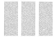 Genoma umano Fotografia Stock