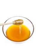 genomblöt honung Arkivfoto