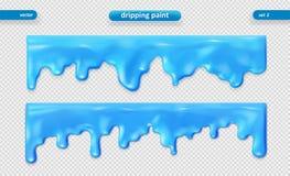 genomblöt målarfärg Glansig yttersida vektor för set för tecknad filmhjärtor polar 10 eps royaltyfri illustrationer