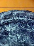 Genomblött däck för lera royaltyfri bild
