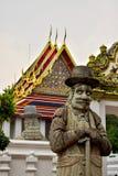 Genomen in de Grote tempel van Boedha in Bangkok, Thailand royalty-vrije stock afbeeldingen