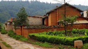 Landelijk huis in China van het Zuidwesten Stock Afbeeldingen