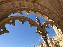 Genomen in Lissabon stock fotografie