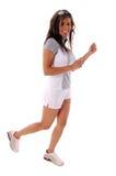 genomkörare för 2 löpare Arkivbild