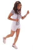 genomkörare för 4 löpare arkivfoton