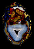 Genomskinlig agat Royaltyfri Bild