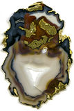 Genomskinlig agat Royaltyfri Fotografi