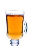 genomskinlig glass tea Fotografering för Bildbyråer