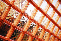 Genomskinlig glasvägg Royaltyfria Foton