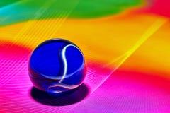 Genomskinlig rund bubbla Royaltyfri Foto