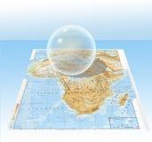 genomskinlig sphere Arkivfoton