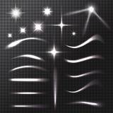 Genomskinliga effekter royaltyfri illustrationer