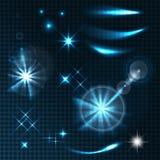 Genomskinliga effekter vektor illustrationer