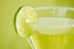 genomträngande limefrukt Royaltyfria Bilder