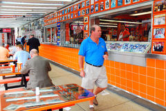 At Genos Steaks Stock Photos