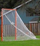Genoteerde het doel van de lacrosse Stock Afbeeldingen
