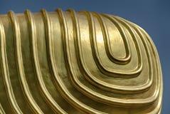 Genou d'or du ` s de Bouddha Photos stock