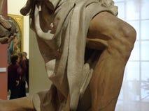Genou de St Jerome par Pietro Torrigiano images libres de droits