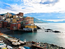 Genova Boccadasse Stock Images