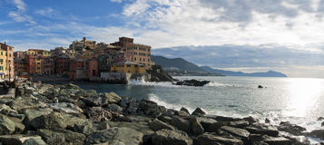 Genova Boccadasse Fotografie Stock