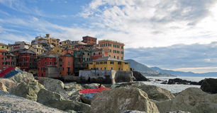 Genova Boccadasse Immagine Stock Libera da Diritti